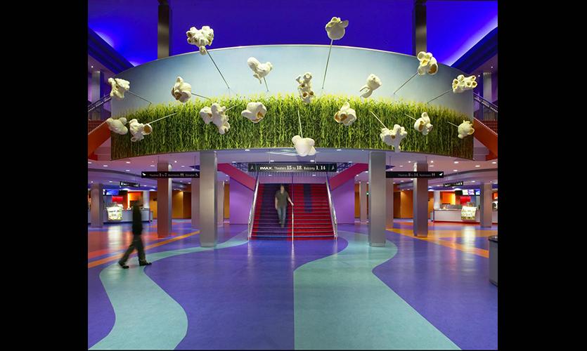 universal studios amc cinema graphics segd