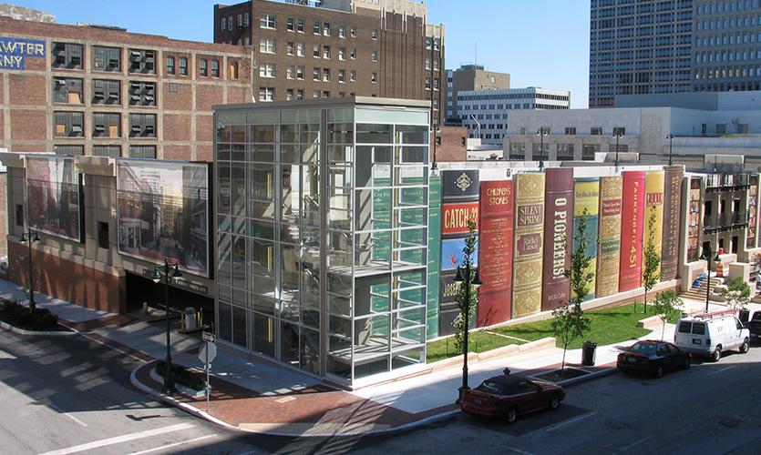 Kansas City Downtown Library Book Bindings