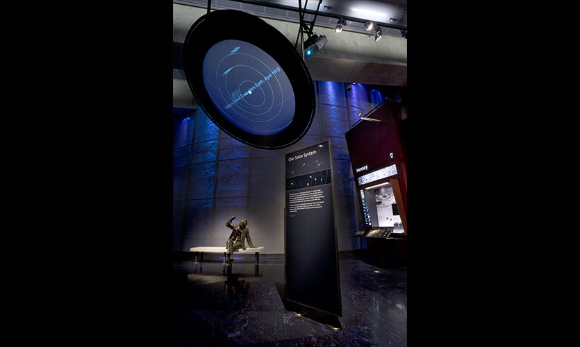 Griffith Observatory Exhibits   SEGD