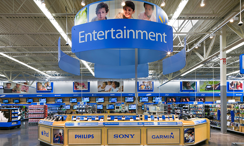 what banks are inside walmart