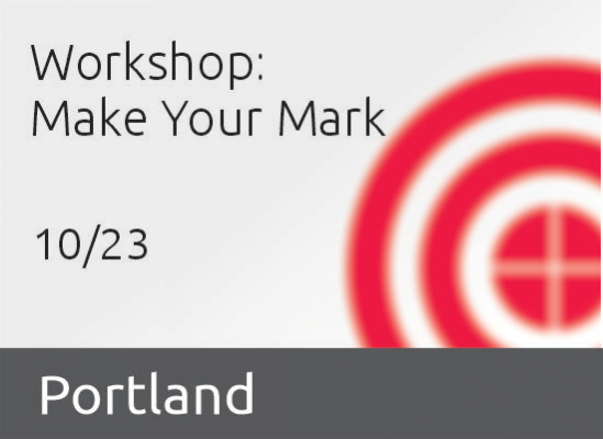 Portland Chapter Event: Make your Mark