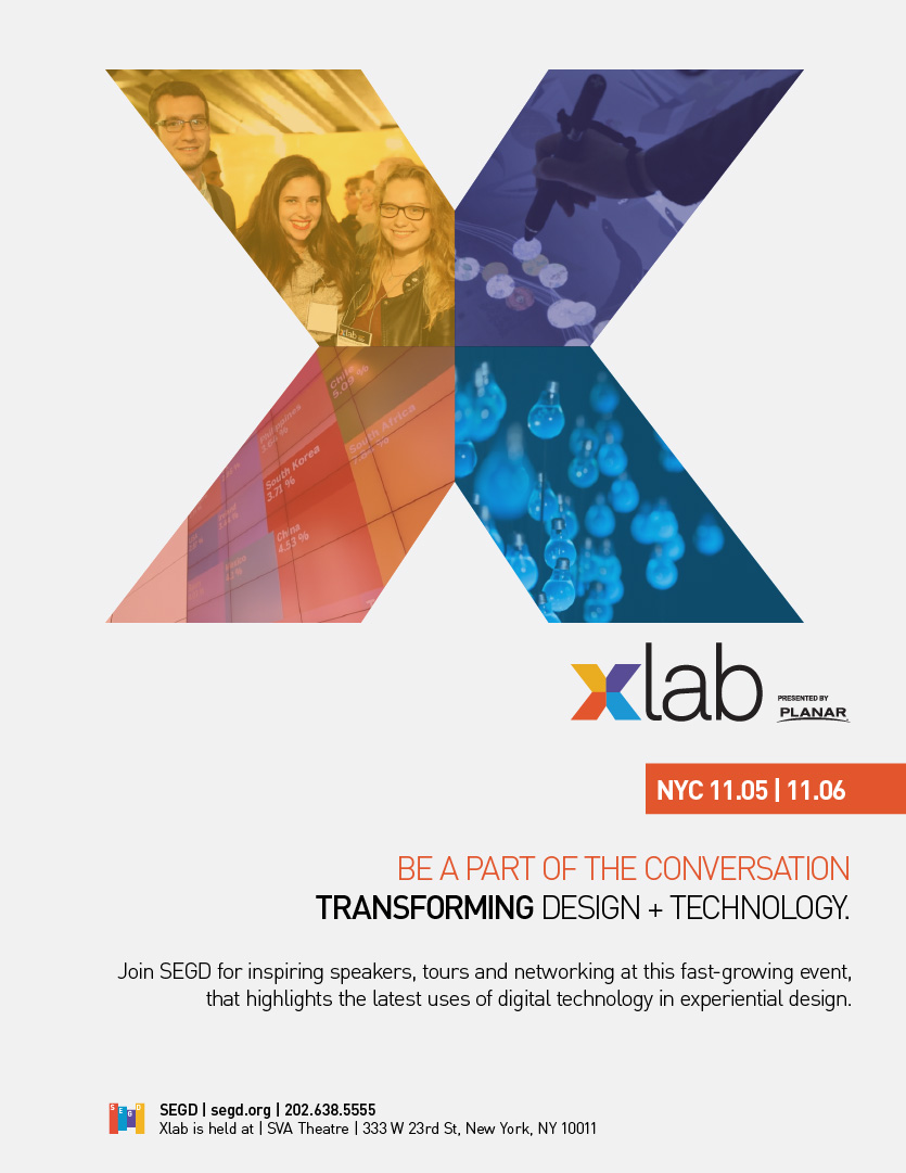 2015 SEGD XLab Poster Image