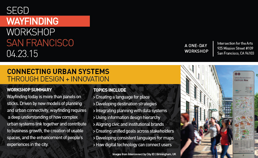 SEGD Wayfinding Workshop Header