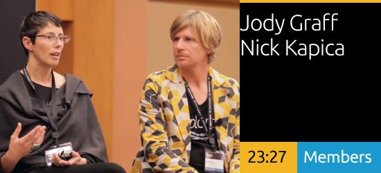 Jody Graff and Nick Kapica - Education