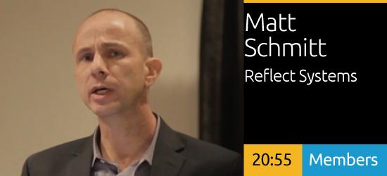 Matt Schmitt: Digital Signage for Shopping
