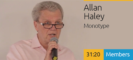 Allan Haley: Scaling Typography