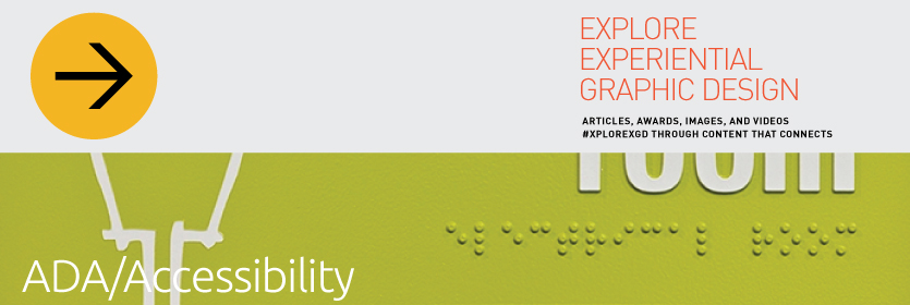 Explore Experiential Graphic Design Accessibility
