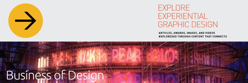 Explore Experiential Graphic Design Business of Design