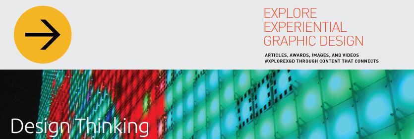 Explore Experiential Graphic Design Design Thinking
