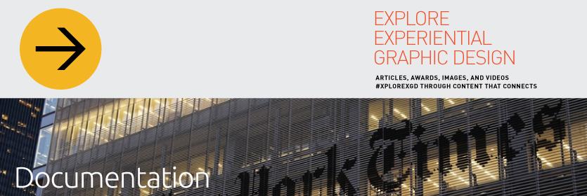 Explore Experiential Graphic Design Documentation