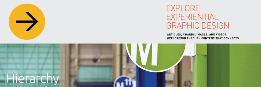 Explore Experiential Graphic Design Hierarchy