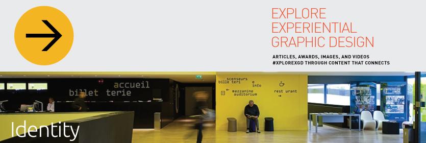 Explore Experiential Graphic Design Identity