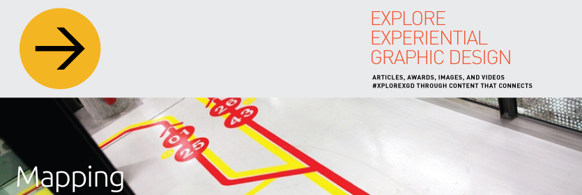 Explore Experiential Graphic Design Mapping
