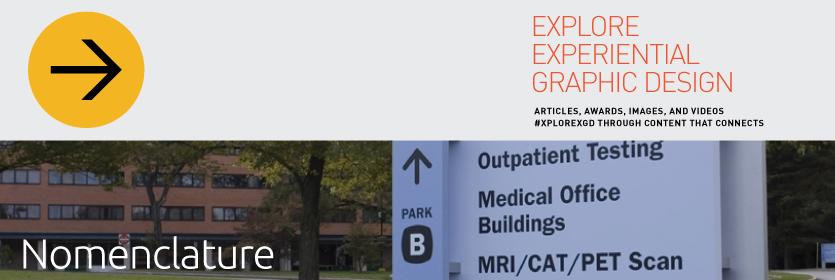 Explore Experiential Graphic Design Nomenclature