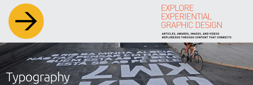 Explore Experiential Graphic Design Typography