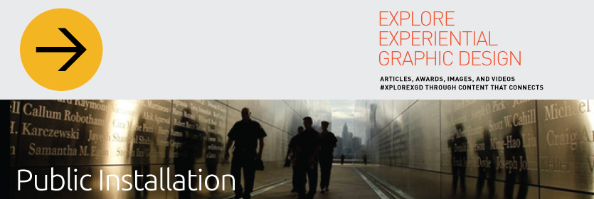 Explore Experiential Graphic Design Public Installation
