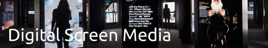 Explore Experiential Graphic Design Digital Screen Media