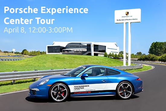 SEGD/AIGA Porsche Experience Center Tour