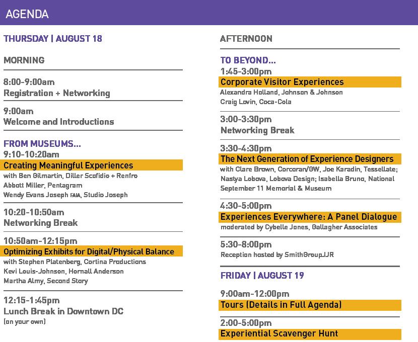 E&E Agenda as of 7/22