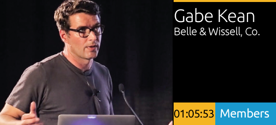 Gabe Kean - Approaching the Media Centric Project