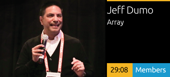 Jeffery Dumo - Aligning Experiences + Content to User Needs
