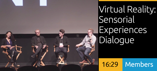 Virtual Reality: Sensorial Experiences Dialogue