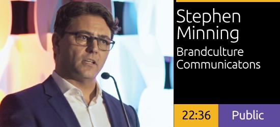 Stephen Minning - Innovating the Passenger Experience