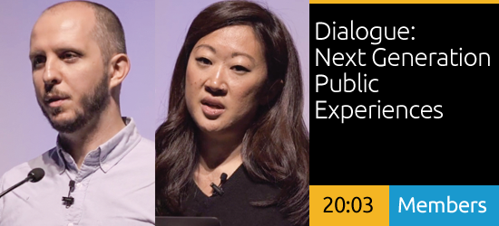 Alexandre Simionescu and Inessah Selditz - Dialogue: Next Generation Public Experiences