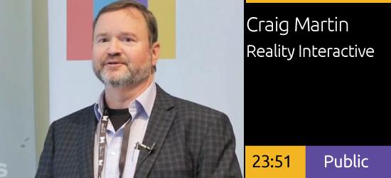 Craig Martin - Leadership Bridging Through Acquisition and Partnerships