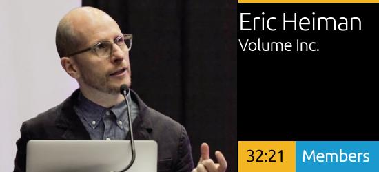 Eric Heiman - Navigating The Value of Design