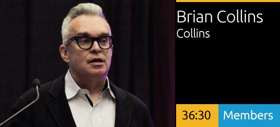 Brian Collins - Optimizing Brand Experiences
