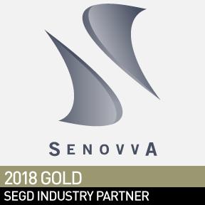 Senovva, SEGD 2018 Gold Industry Partner