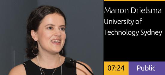 2018 Academic Summit Minneapolis - Manon Drielsma - The Sydney Foreshore Story Line
