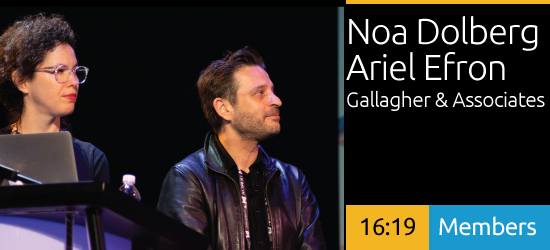 Noa Dolberg & Ariel Efron: Immersive & Interactive Storytelling for Cultural & Consumer-centric Experiences