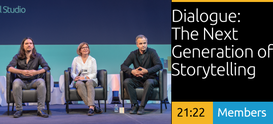 Dialogue: The Next Generation of Storytelling: Connecting People to Place