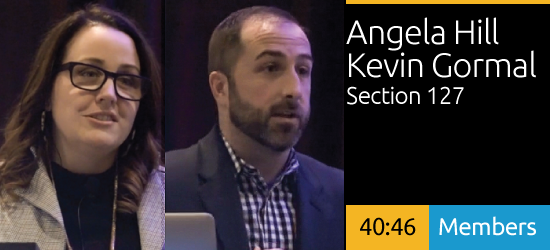 Angela Hill & Kevin Gormal - Activating Public Places for Fan and Team Brand Experiences