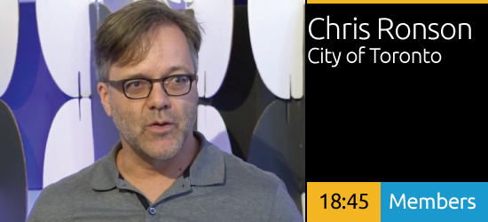 Chris Ronson - Developing a Multi-Modal Wayfinding System for the City of Toronto