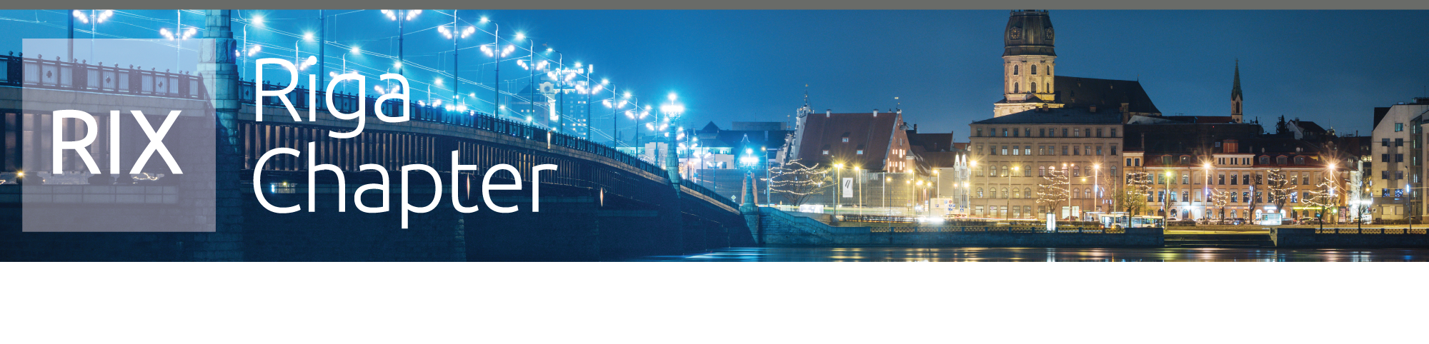 Riga Latvia Chapter Header