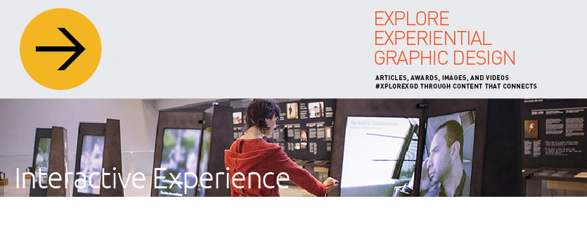 Interactive Experience Header