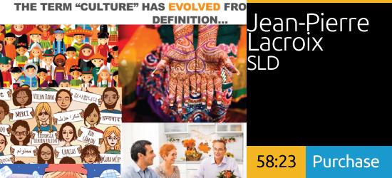 Redefining Culture in a Virtual World - Jean-Pierre Larcoix, SLD