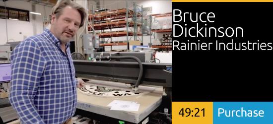 New Materials, Recent Experiments, Bruce Dickinson Rainier Industries