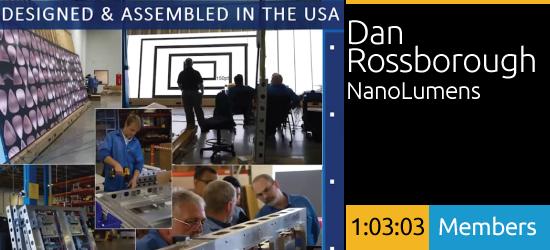 2020 SEGDVoices: NanoLumens and the Degrees of Freedom