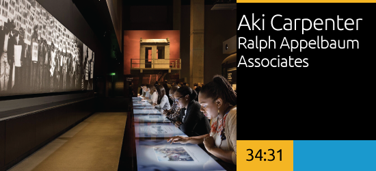 Aki Carpenter, Ralph Appelbaum Associates
