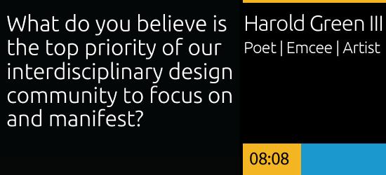 Harold Green, III Poet | Emcee | Artist