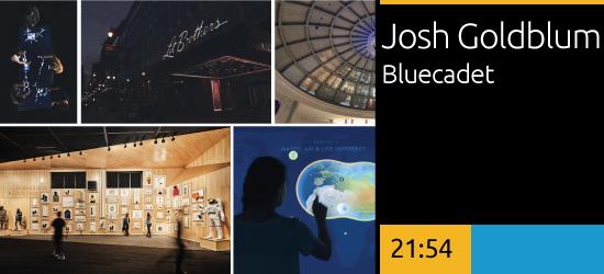 Josh Goldblum, Bluecadet