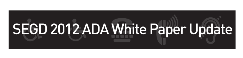 2012 ADA White Paper Update