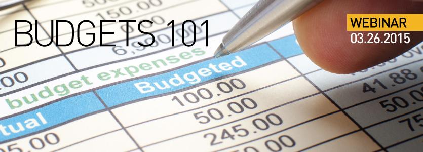 2015 SEGD Webinar Budgets 101
