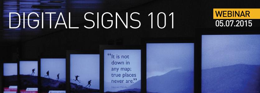 2015 SEGD Webinar Digital Signs101