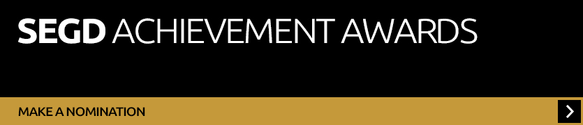 Nominate a person of firm for an SEGD Achievement Award
