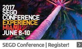 Register to attend the 2017 SEGD Conference Experience Miami!